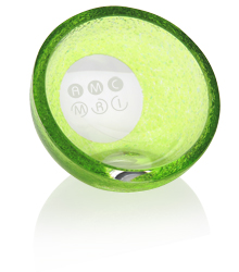 View a larger, more detailed picture of the Plato Glass Paperweight