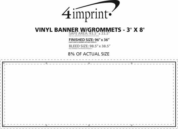 Vinyl Banner With Grommets X Item No GR From - Vinyl banners with grommets