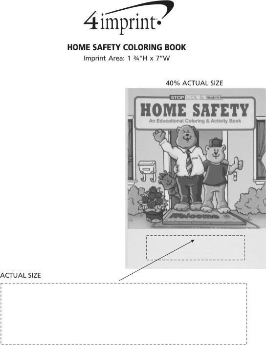 Galerry home safety coloring book