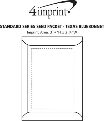 texas bluebonnet coloring page - standard series seed packet texas
