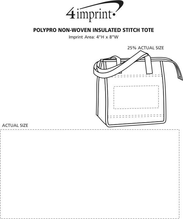 4imprint Com Polypro Non Woven Insulated Stitch Tote 109082