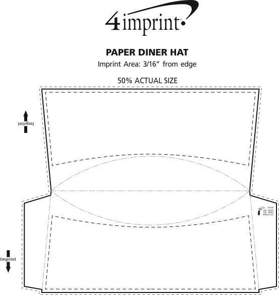 Paper Diner Hat Item No 113175 W From Only 35c Ready To