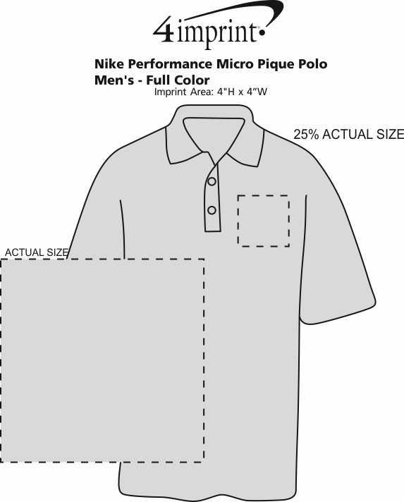 cd5c8d527 4imprint.com  Nike Performance Tech Pique Polo - Men s - Full Color ...