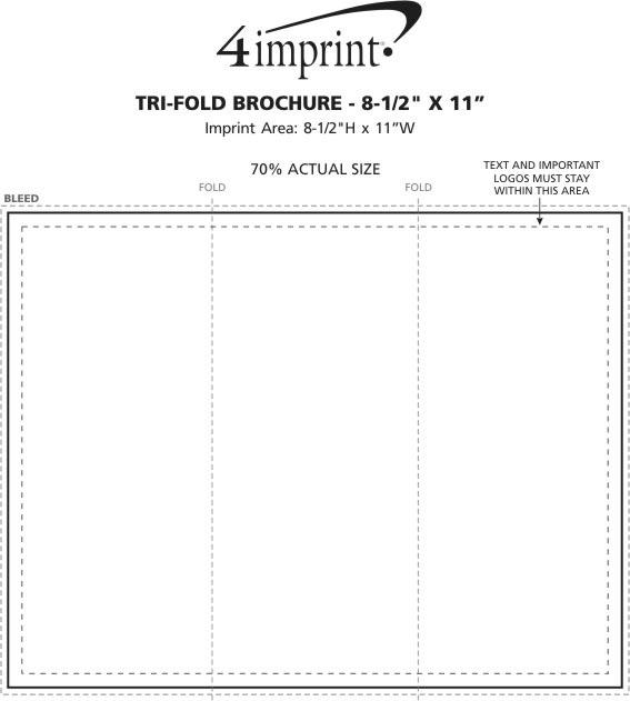 Product Tri Fold Brochure: Printed Marketing Materials