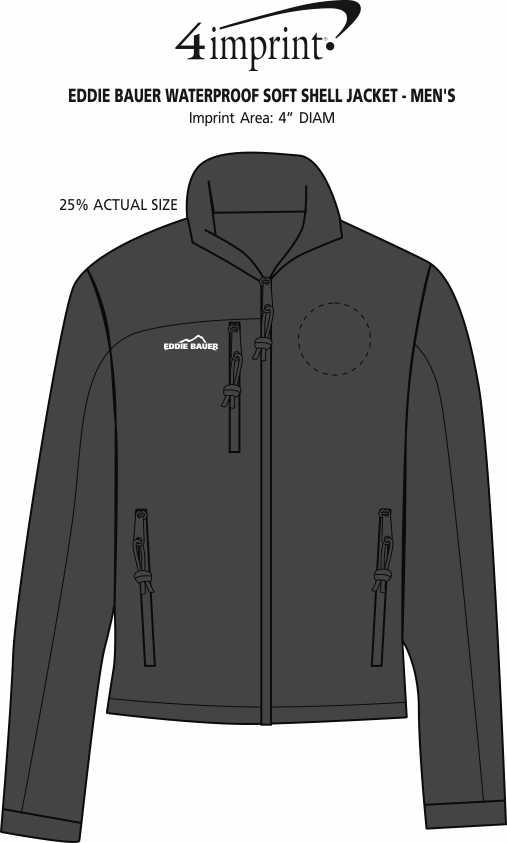 4imprint.com  Eddie Bauer Soft Shell Jacket - Men s 116566-M f1b96a650
