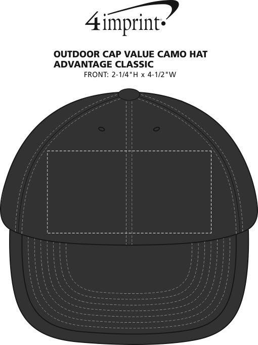 31ea8b6f22e 4imprint.com  Outdoor Cap Classic Camouflage Cap - Advantage Classic ...