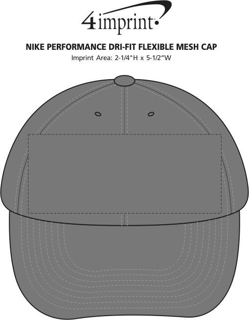 a4366d03eacd2 Nike Performance Dri-Fit Flexible Mesh Cap Main Image · 360° view · View  Imprint