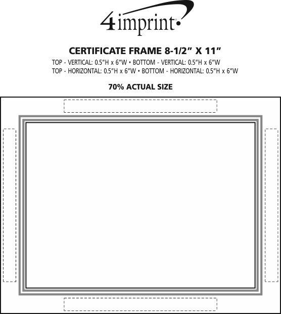4imprintcom Certificate Frame 8 12 X 11 119363
