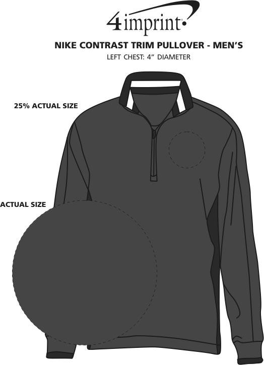 eb0d9f04f518 4imprint.com  Nike Contrast Trim Pullover - Men s 120159-M