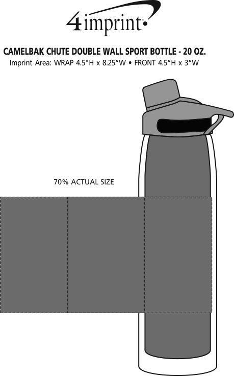 Customized CamelBak Chute Double Wall Sport Bottle - 20 oz. (Item ...