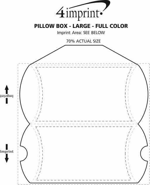 4imprint com  pillow box - large