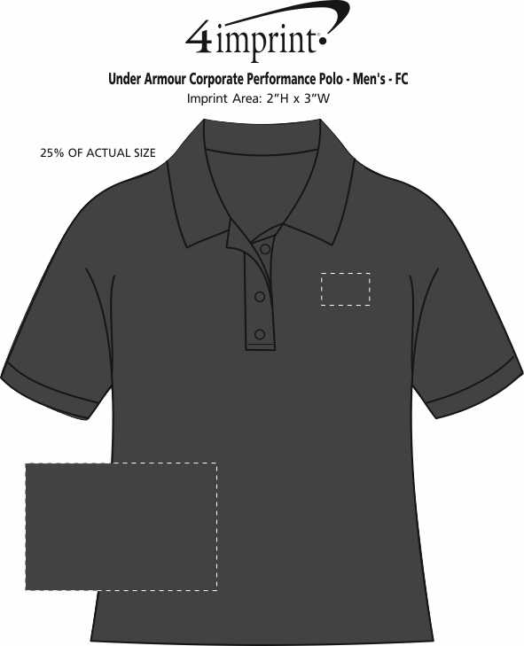da451e281 ... Under Armour Corporate Performance Polo - Men's - Full. View Imprint