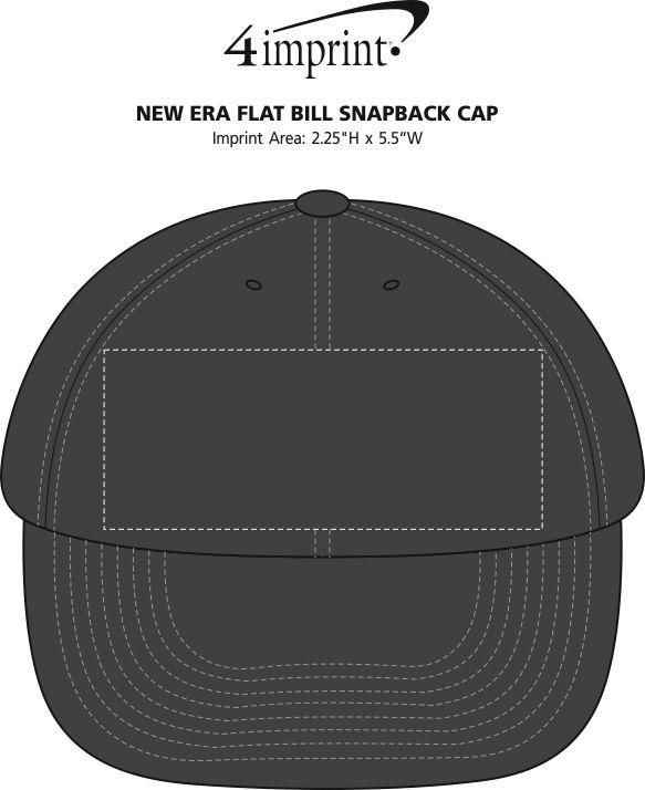 ea1af719236 4imprint.com  New Era Flat Bill Snapback Cap 134606