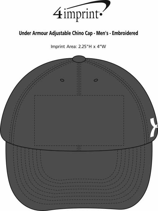 0f51404444f Under Armour Adjustable Chino Cap - Men s - Embroidered Image 1 of 1. View  Imprint