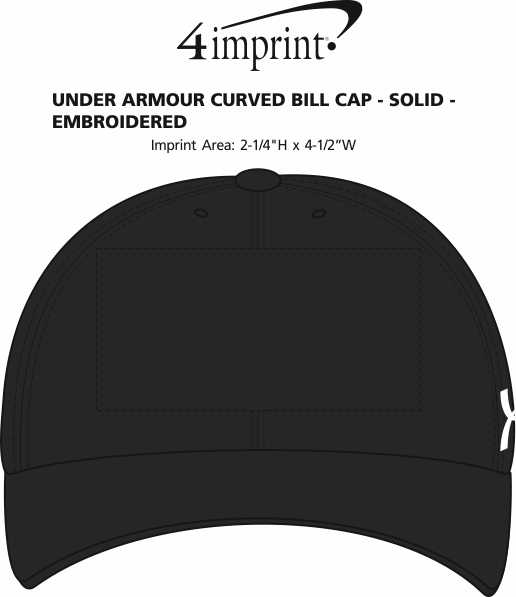 f92f0ea4601 4imprint.com  Under Armour Curved Bill Cap - Solid - Embroidered ...