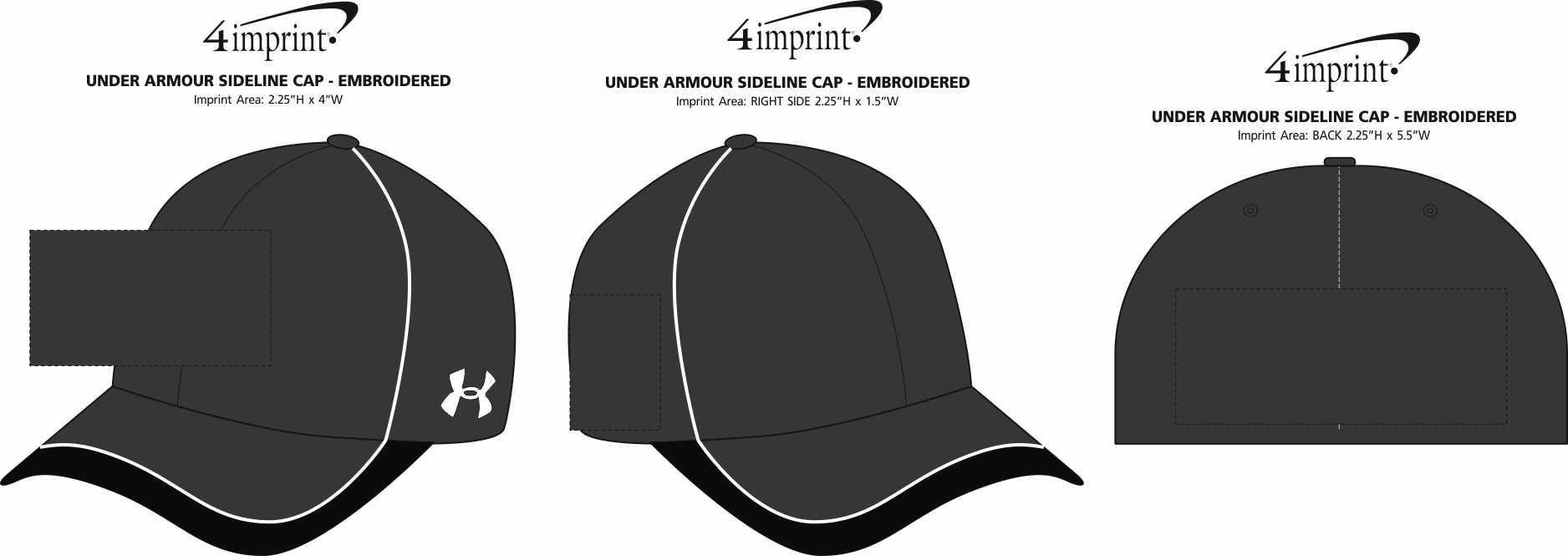 02fb91ab5 4imprint.com: Under Armour Sideline Cap - Embroidered 134886-E