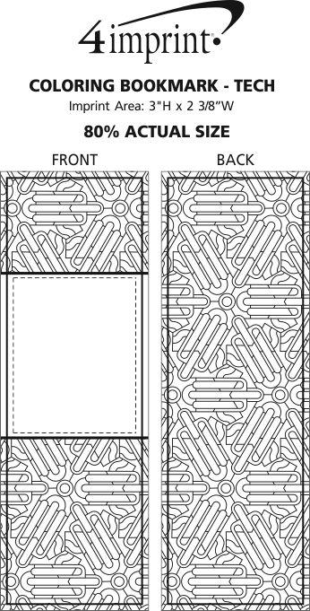 4imprint.com: Coloring Bookmark - Tech 138408-TECH