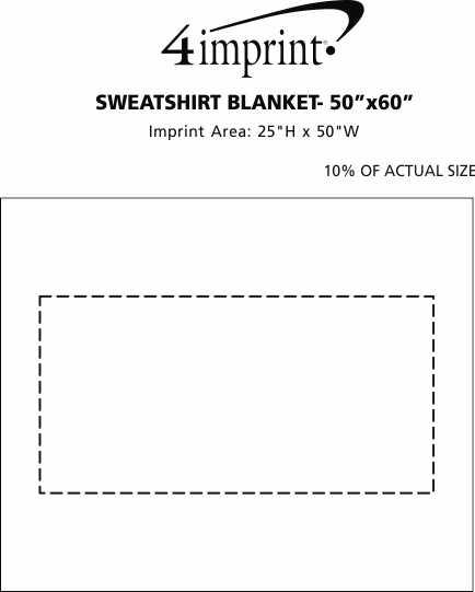 sweatshirt blanket 50 x 60 138461 5060
