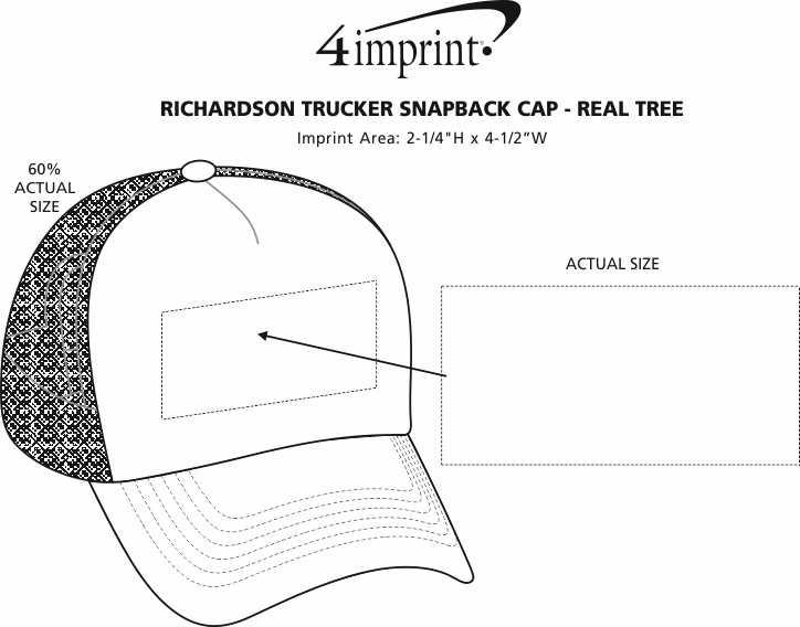 3484e10943bb3 ... Richardson Trucker Snapback Cap - Realtree. 360° view · View Imprint