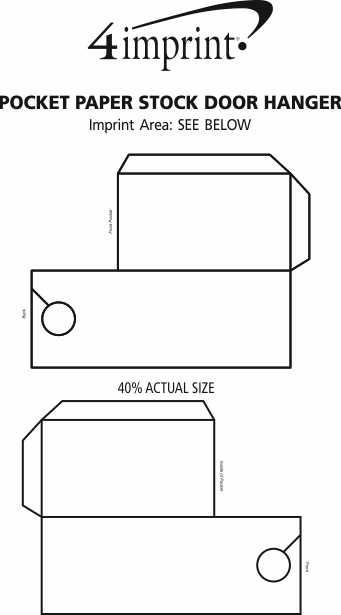 pocket paper stock door hanger 141310