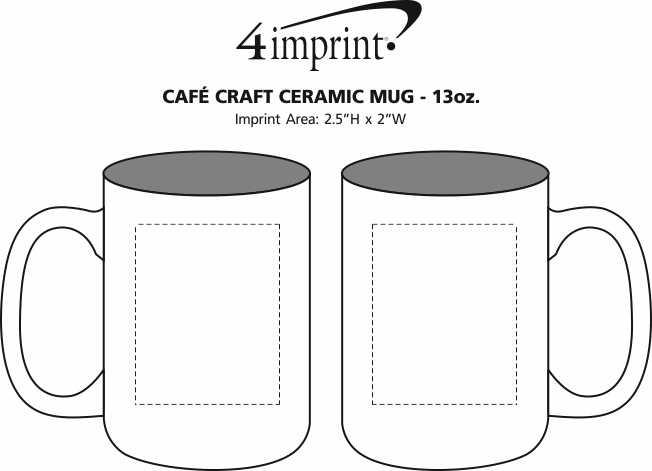 Cafe Craft Ceramic Mug 13 Oz 142805
