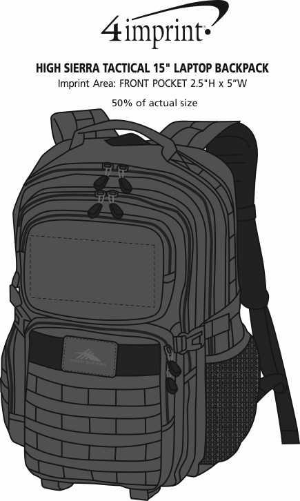 4imprint.com  High Sierra Tactical 15