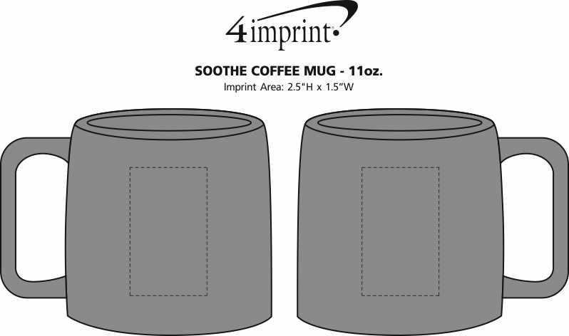 2de29f9ab4 4imprint.com: Soothe Coffee Mug - 11 oz. 151015