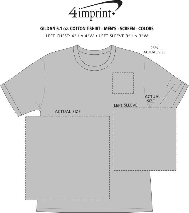 1f201eae Ultra Cotton T-Shirt - Men's - Screen - Colors Main · View Imprint Area