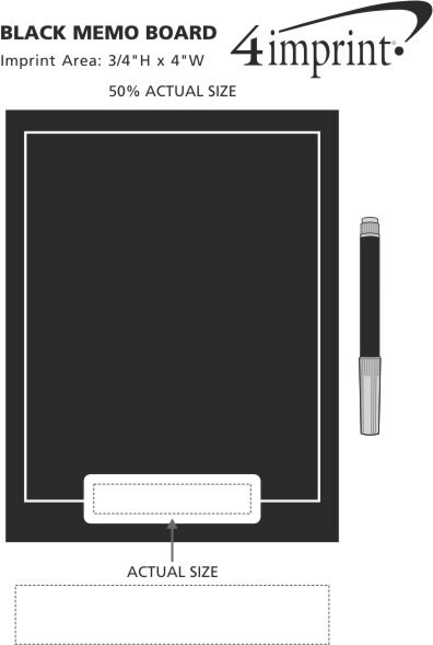 400 Is No Longer Available 40imprint Promotional Products Awesome Black Magnetic Memo Board