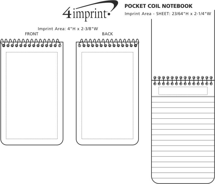 pocket coil notebook 8042