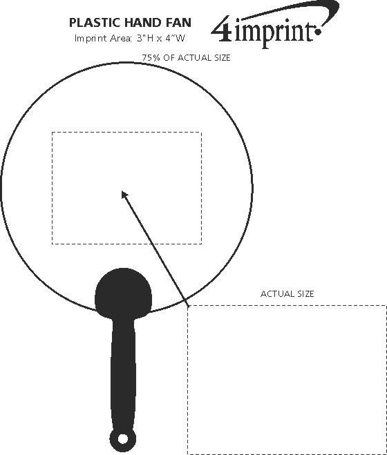 4imprint Com Plastic Hand Fan 9631