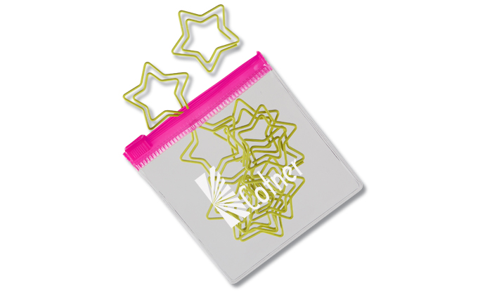 View a larger, more detailed picture of the Clipsters Paper Clips - Star