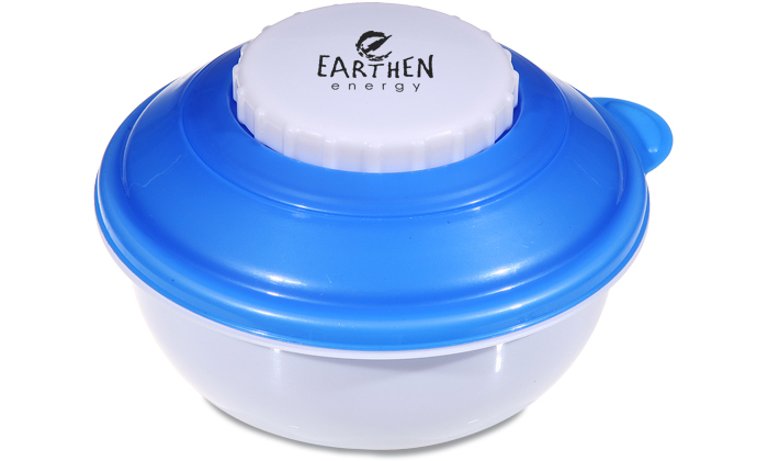 Snack Bowl with Freezable Dip Insert