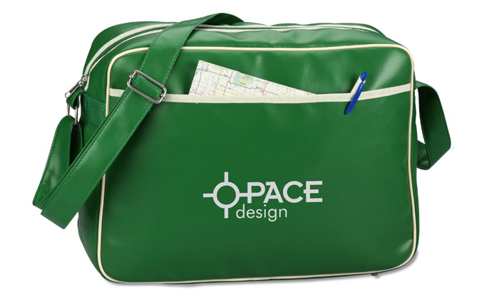 Promotional vintage flight bag