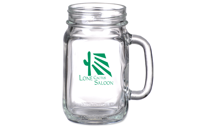 personalized mason jar