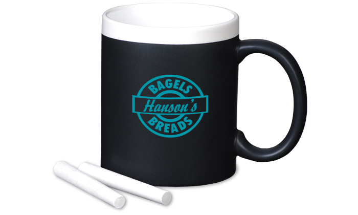 Custom chalk mug