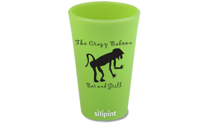 Silipint Personalized Pint Cup