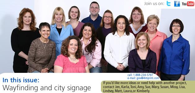 Wayfinding and city signage