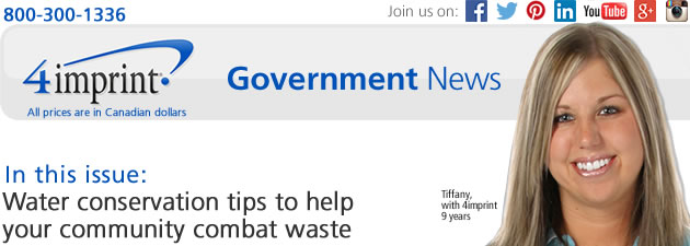 Government News: Water conservation tips to help your community combat waste