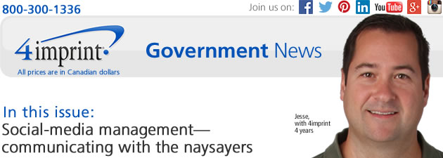 Government News: Social-media management—communicating with the naysayers