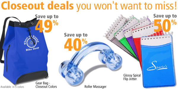 Closeout deals you won't want to miss!