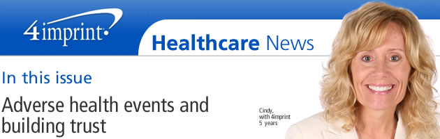 Adverse health events and building trust
