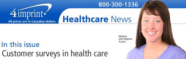 Customer surveys in health care