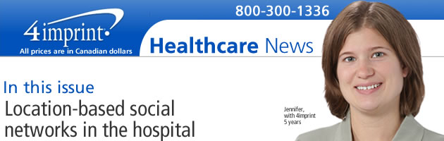 Location based social networks in the hospital