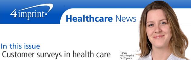 Customer surveys in healthcare