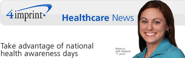 Take advantage of national health awareness days