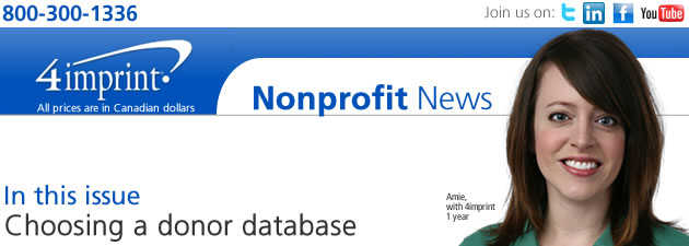 Choosing a donor database
