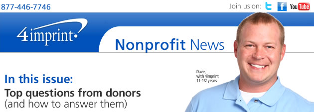 Top questions from donors (and how to answer them)