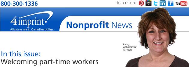 Nonprofit: Welcoming part-time workers