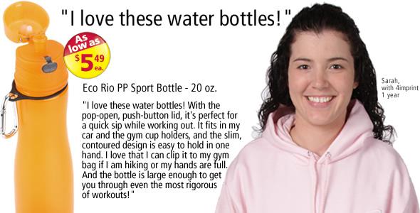 Eco Rio PP Sport Bottle - 20 oz. #C104415